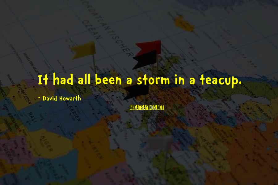 1066 And All That Sayings By David Howarth: It had all been a storm in a teacup.