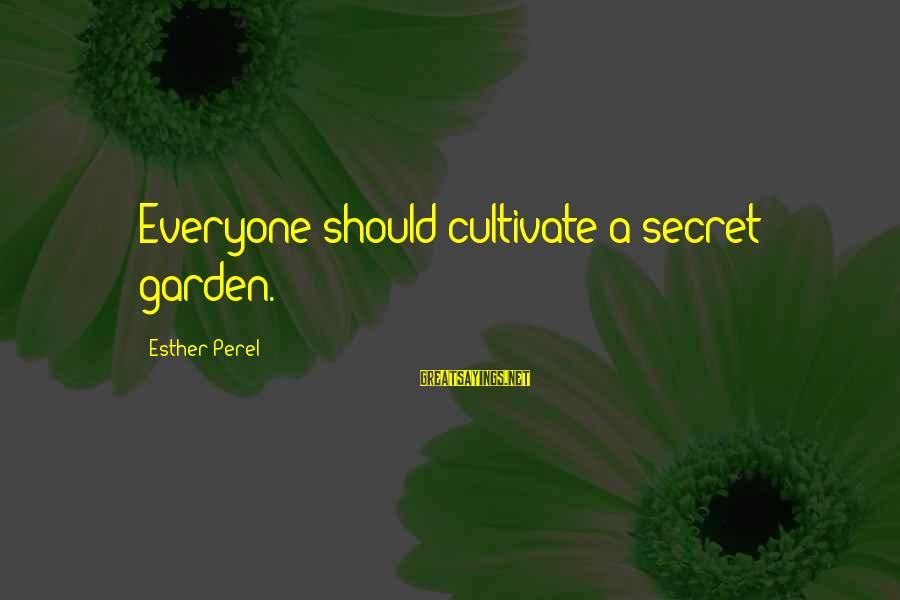 A Secret Garden Quotes Top 48 Famous Sayings About A Secret Garden