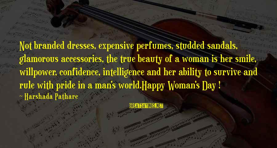 Beauty In Confidence Sayings By Harshada Pathare: Not branded dresses, expensive perfumes, studded sandals, glamorous accessories, the true beauty of a woman