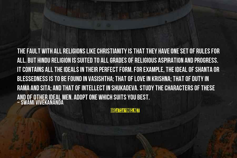 Best Religious Sayings By Swami Vivekananda: The fault with all religions like Christianity is that they have one set of rules