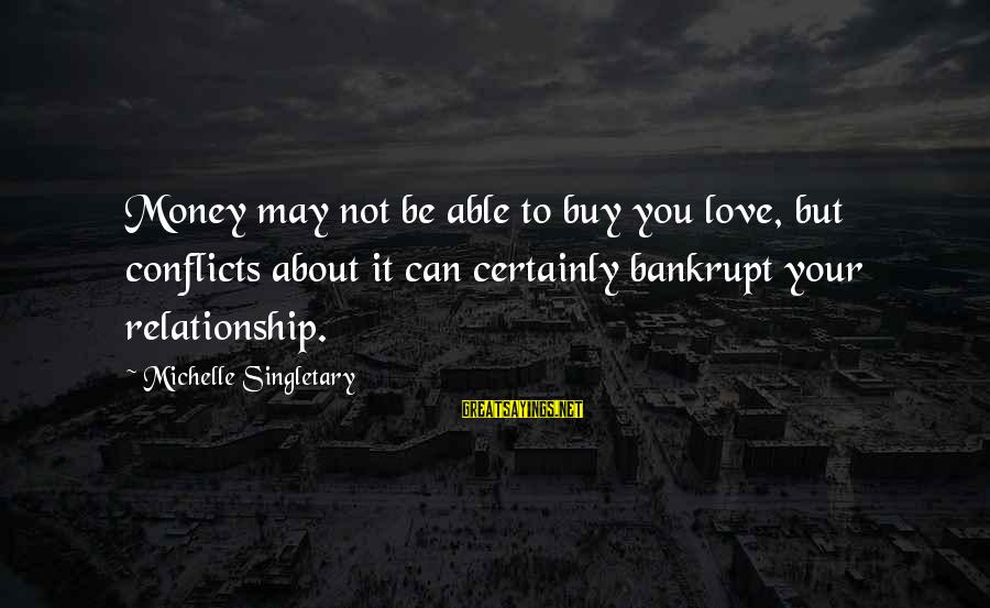 Bowdlerized Sayings By Michelle Singletary: Money may not be able to buy you love, but conflicts about it can certainly