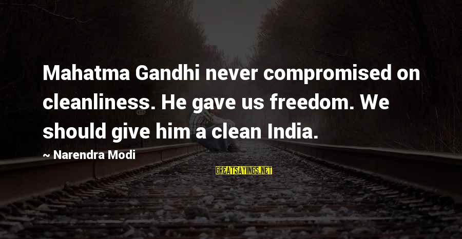 Clean India Gandhi Quotes: top 12 famous sayings about Clean