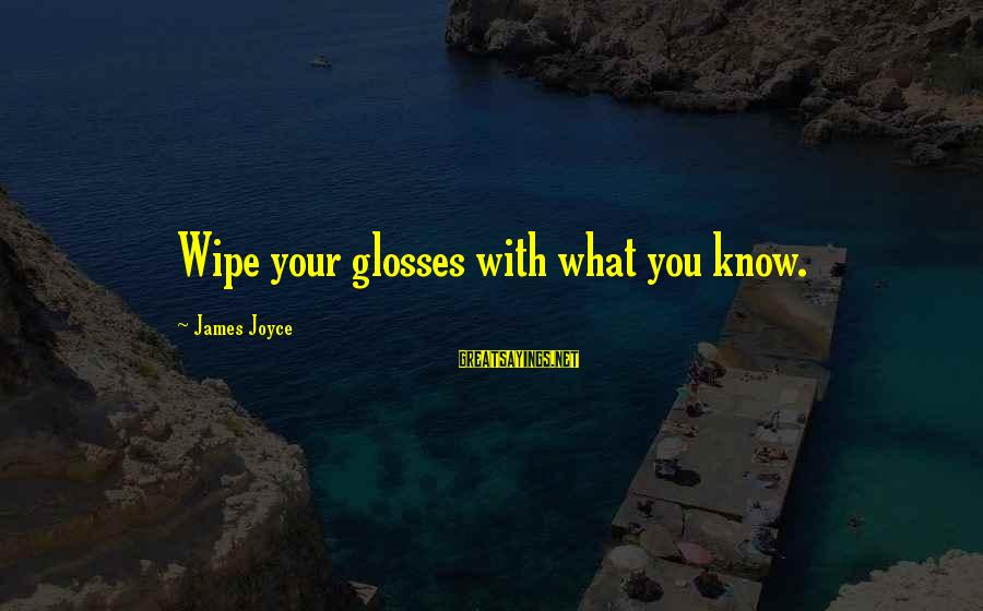 Cmcsa Historical Stock Sayings By James Joyce: Wipe your glosses with what you know.