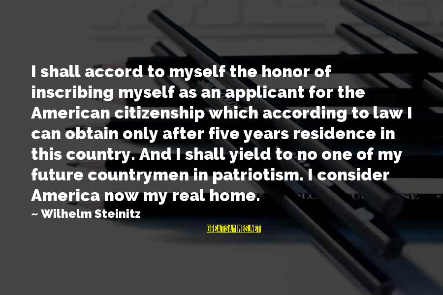Countrymen Sayings By Wilhelm Steinitz: I shall accord to myself the honor of inscribing myself as an applicant for the