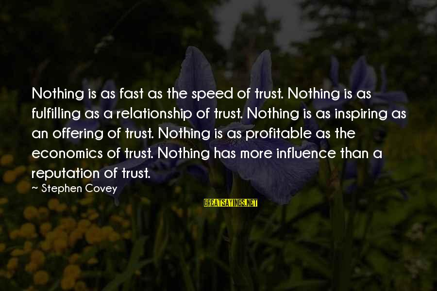 Education In Sanskrit Pdf Sayings By Stephen Covey: Nothing is as fast as the speed of trust. Nothing is as fulfilling as a