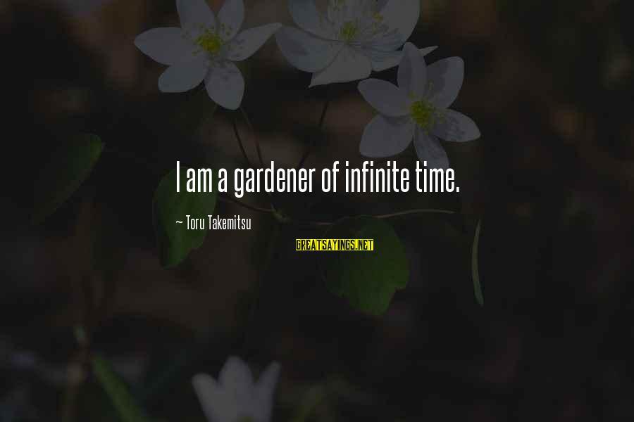 Elementary Season 2 Episode 22 Sayings By Toru Takemitsu: I am a gardener of infinite time.