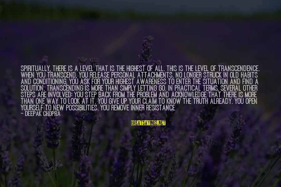 Finding Yourself Spiritually Sayings By Deepak Chopra: Spiritually, there is a level that is the highest of all. This is the level