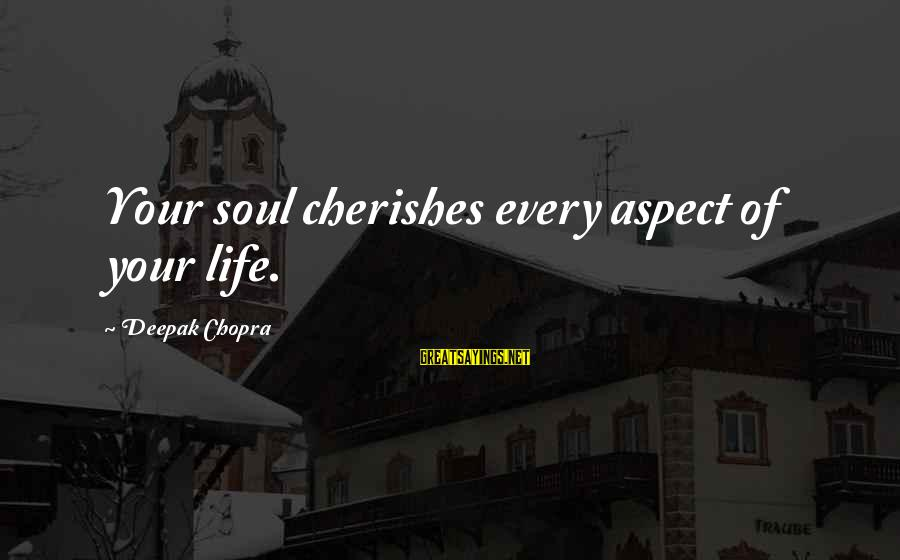 Harpic Sayings By Deepak Chopra: Your soul cherishes every aspect of your life.