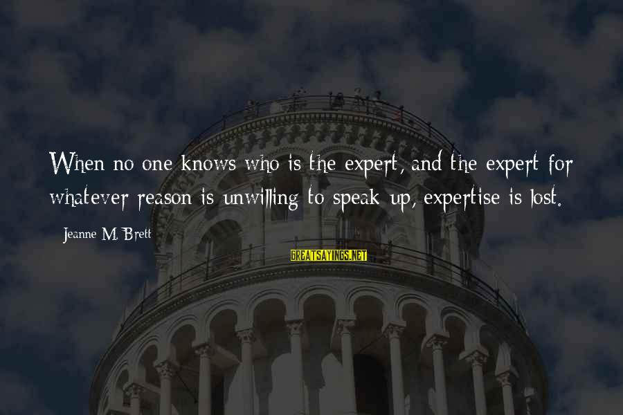 Kongo Sayings By Jeanne M. Brett: When no one knows who is the expert, and the expert for whatever reason is