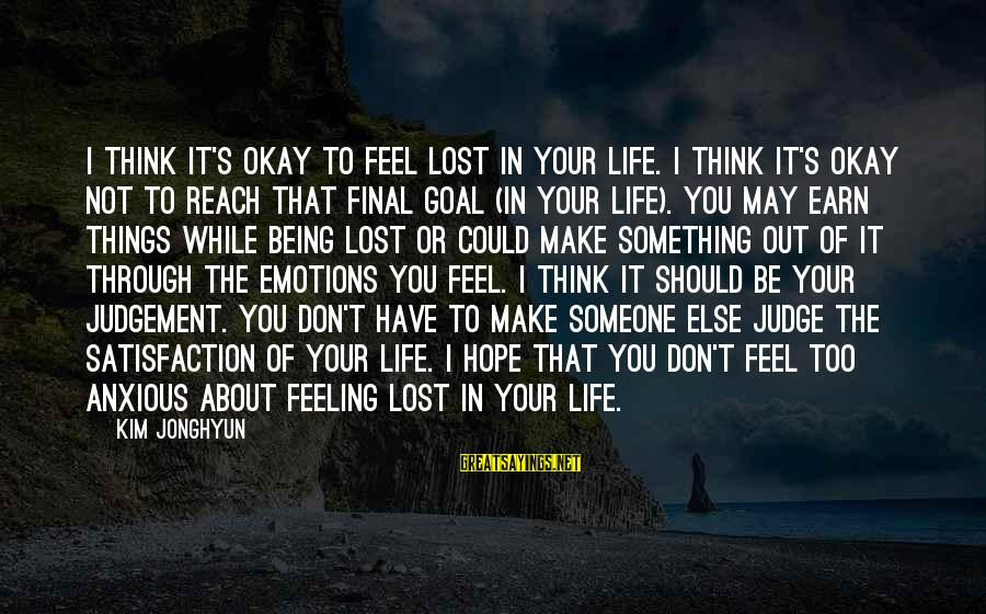 Life Feeling Lost Quotes Top 91 Famous Sayings About Life Feeling Lost