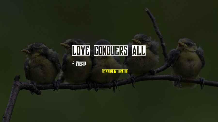 Love Conquers All Sayings By Virgil: Love Conquers All