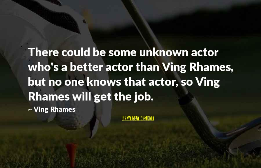 Love Lost In Hindi Sayings By Ving Rhames: There could be some unknown actor who's a better actor than Ving Rhames, but no