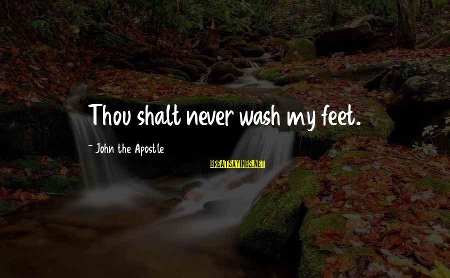 Mac Os Disable Smart Sayings By John The Apostle: Thou shalt never wash my feet.
