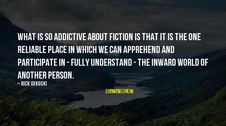 Missing Jamaica Sayings By Rick Gekoski: What is so addictive about fiction is that it is the one reliable place in