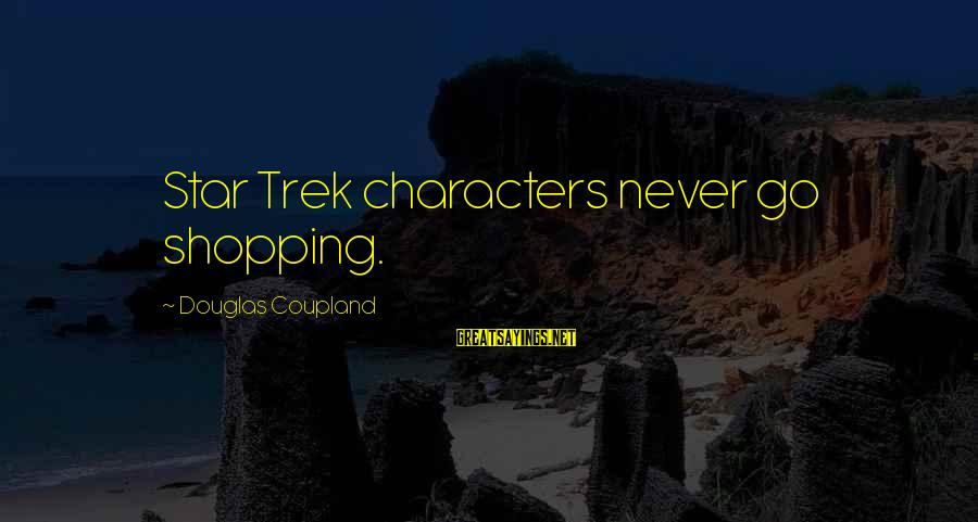Pajama Sets With Sayings By Douglas Coupland: Star Trek characters never go shopping.