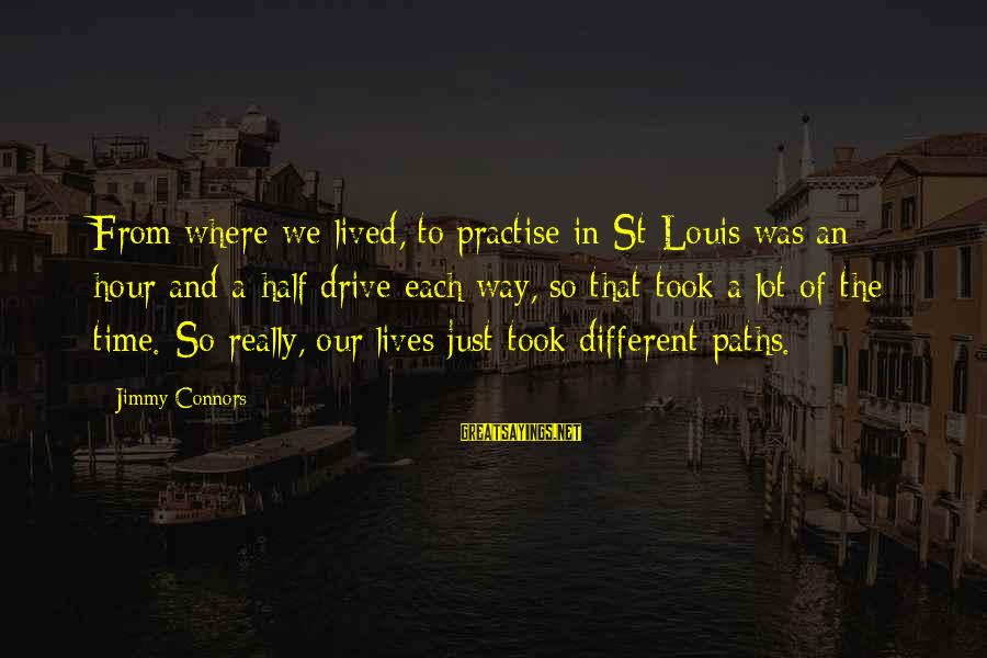 Richard Ii Play Famous Sayings By Jimmy Connors: From where we lived, to practise in St Louis was an hour-and-a-half drive each way,