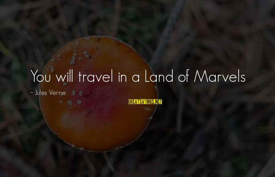 Shanghai Knights Sayings By Jules Verne: You will travel in a Land of Marvels