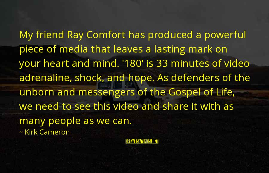 Share Your Life Sayings By Kirk Cameron: My friend Ray Comfort has produced a powerful piece of media that leaves a lasting