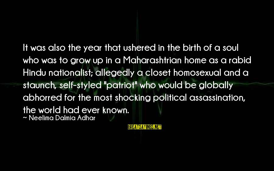 Shocking Sayings By Neelima Dalmia Adhar: It was also the year that ushered in the birth of a soul who was