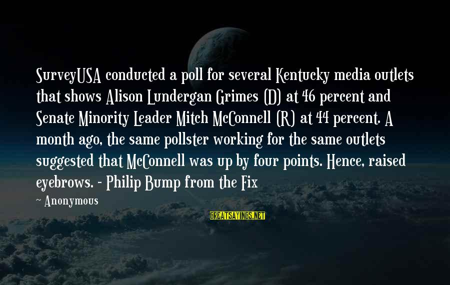 Surveyusa Sayings By Anonymous: SurveyUSA conducted a poll for several Kentucky media outlets that shows Alison Lundergan Grimes (D)