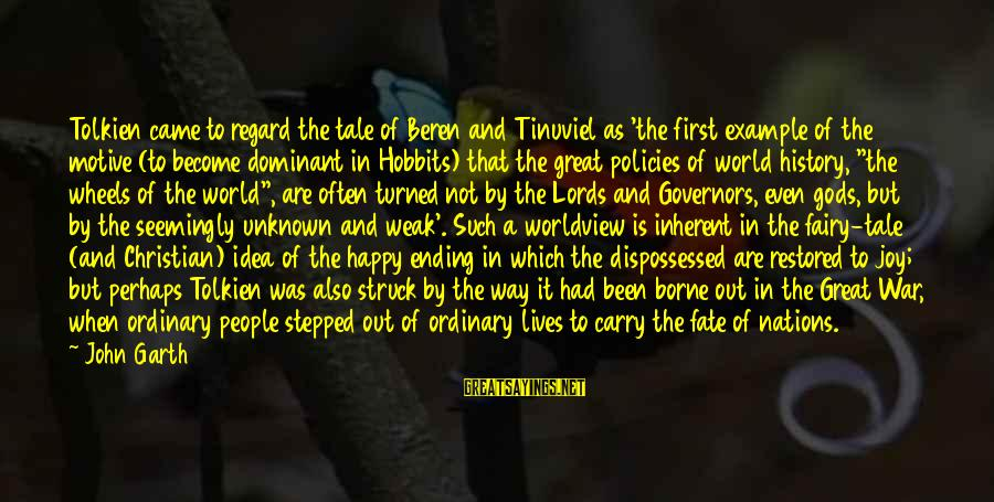 The World Ending Sayings By John Garth: Tolkien came to regard the tale of Beren and Tinuviel as 'the first example of