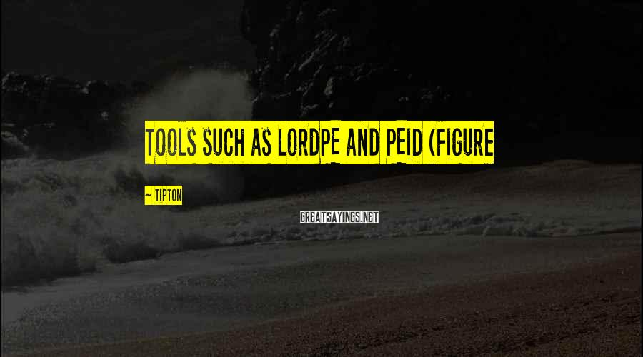 Tipton Sayings: Tools such as LordPE and PEiD (Figure