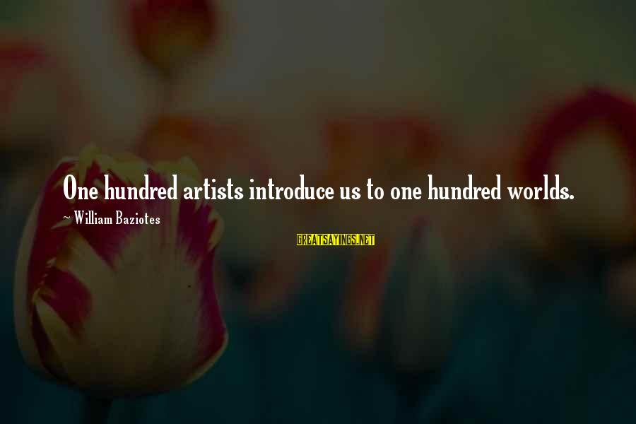 True Blood Family Sayings By William Baziotes: One hundred artists introduce us to one hundred worlds.