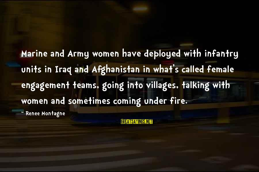 U.s. Army Infantry Sayings By Renee Montagne: Marine and Army women have deployed with infantry units in Iraq and Afghanistan in what's