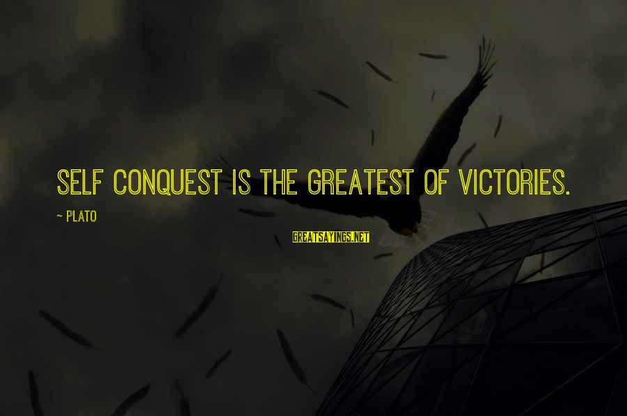 Vbscript String Contains Double Sayings By Plato: Self conquest is the greatest of victories.