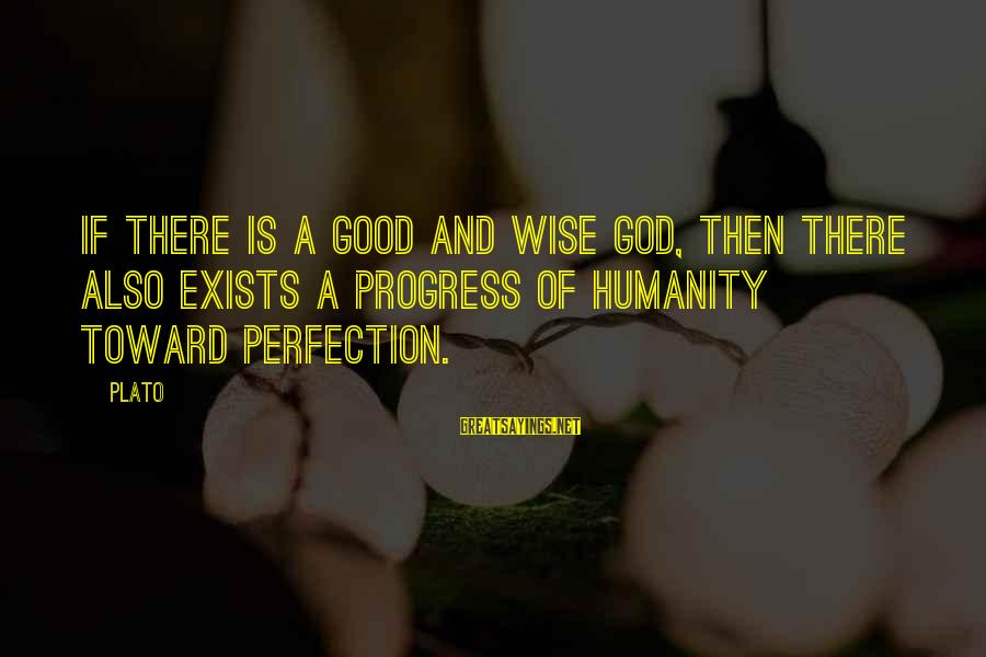 Why Sports Are Good Sayings By Plato: If there is a good and wise God, then there also exists a progress of