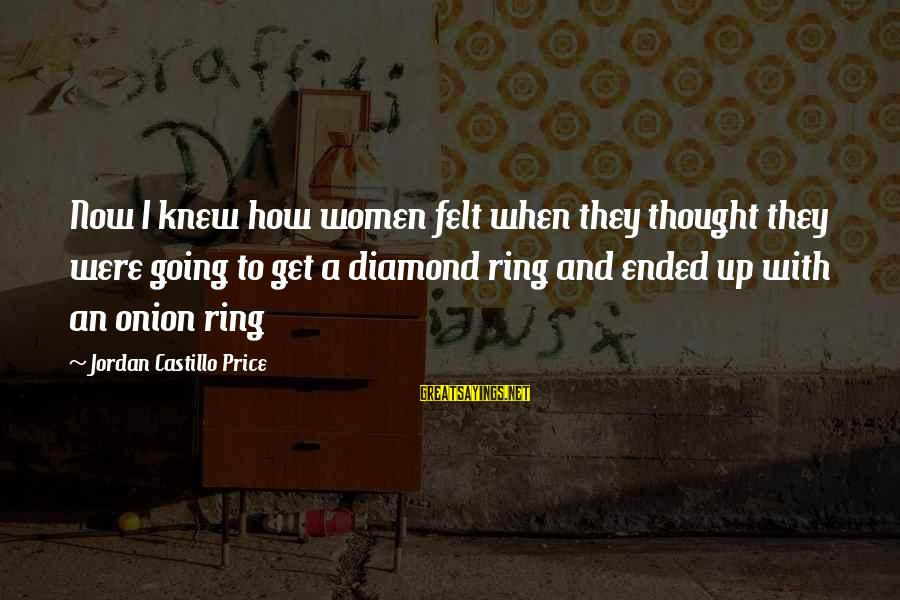 With'ring Sayings By Jordan Castillo Price: Now I knew how women felt when they thought they were going to get a