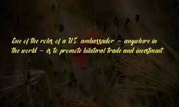 Ambassador Sayings