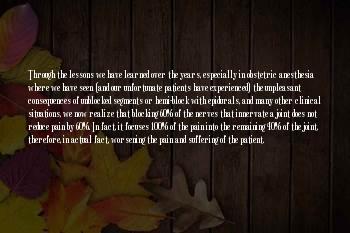 Andre P. Boezaart Sayings