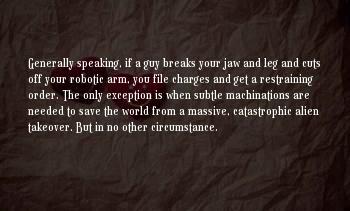 Arm Cuts Sayings