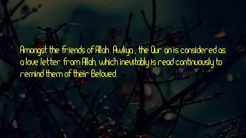 Awliya Sayings