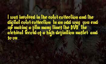 Color Correction Sayings
