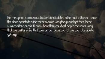 Easter Island Sayings