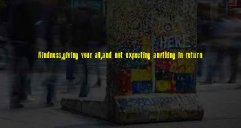 Giving Not Expecting Anything Return Sayings