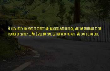 Harriet Jacobs Freedom Sayings
