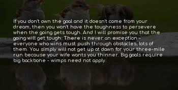If The Going Gets Tough Sayings