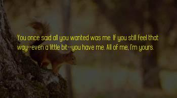 I'm Still Yours Sayings