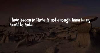 Love Hate Sayings