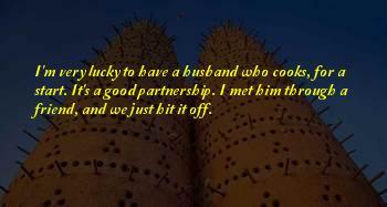 Lucky We Met Sayings