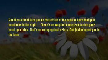 Migraineur's Sayings