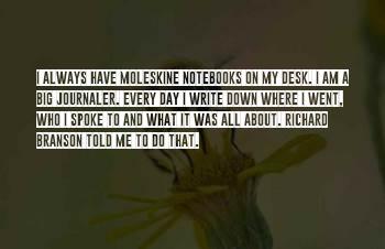 Moleskine Sayings