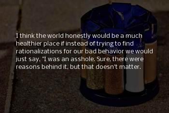 Rationalizations Sayings
