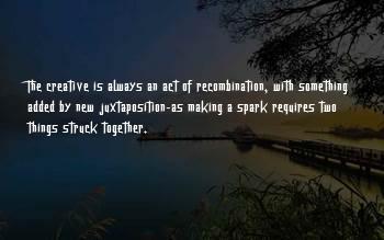 Recombination Sayings