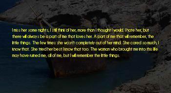 Ruined Nights Sayings