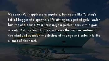 Search For Your Happiness Sayings