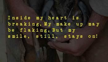 Smile Lyrics Sayings